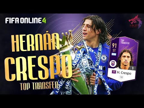FO4 review | Hernan Crespo TT (Top Transfer) - Quá hợp Meta