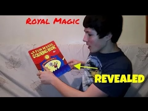 A Fun Magic Coloring Book Trick Revealed