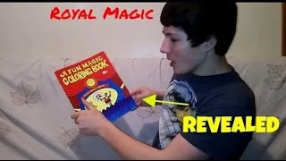 A Fun Magic Coloring Book Trick Revealed Youtube