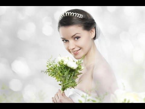 Свадебные прически на средние волосы (50 фото)