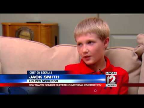 11-year-old neighbor saves veteran's life