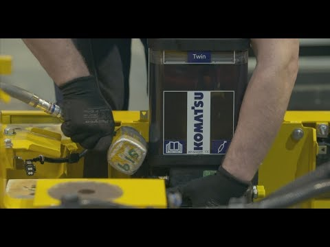 Komatsu & Groeneveld Automatic Greasing System For Excavators