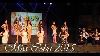 Miss Cebu 2015: Candidates showcase creations of young Cebu designers