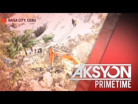Mga namatay sa landslide sa Naga City, Cebu, pumalo na sa halos 60