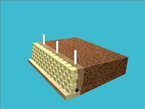 How To Build A Retaining Wall With A Fence Application
