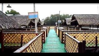Best seafood restaurant Bacoor Cavite inside floating hut