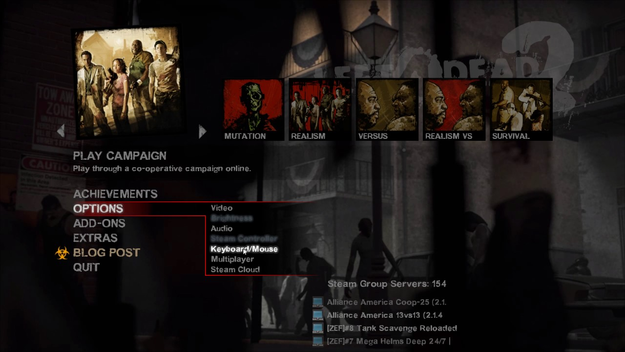How To Disable Developer Console In Left 4 Dead 2