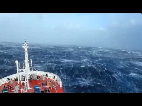 Ship in Indian ocean HD