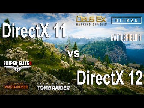 directx 11 or 12