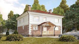 Проект дома 2 этажа 8 на 10