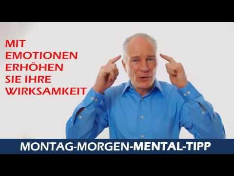 Montag Morgen Mental Tipp Mit Emotionen erhöhen Sie Ihre Wirksamkeit