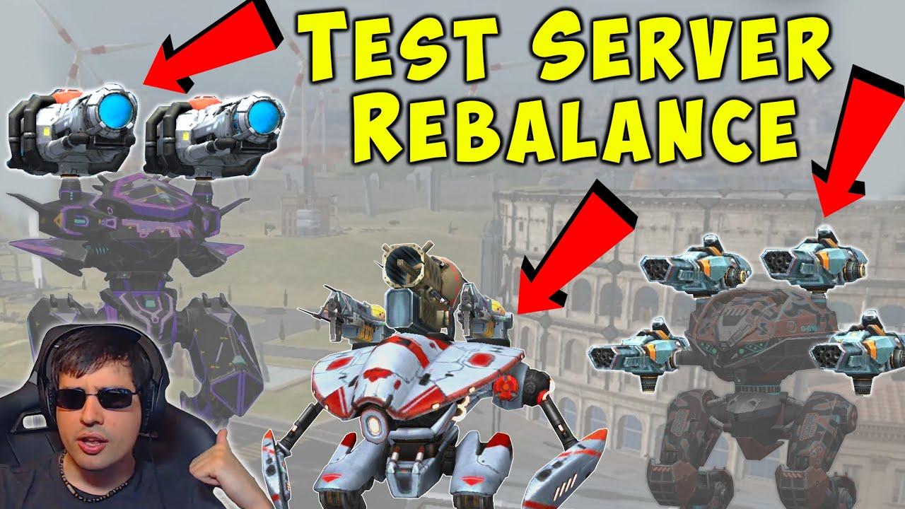 NEW Big Test Server Changes: Storm Mender Weyland Redeemer War Robots WR