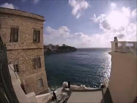 Syros, Greece - Σύρος, Ελλάδα Time Lapse