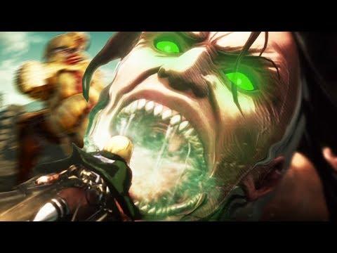 TITAN SHIFTER vs my MAN MEAT! yikes... - Attack on Titan 2 (Shingeki no Kyojin/AoT Gameplay 1)
