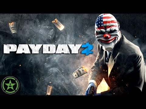 Achievement Hunter Live Stream - Payday 2