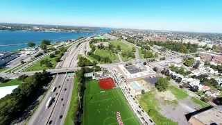 Dan Oshier Productions Aerial Real Estate | D'Youville College debuts new athletic field