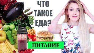Что такое еда. Основы правильного питания.