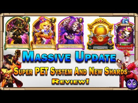 Castle Clash | Massive Update | 2 New Heroes | New Super Pets System