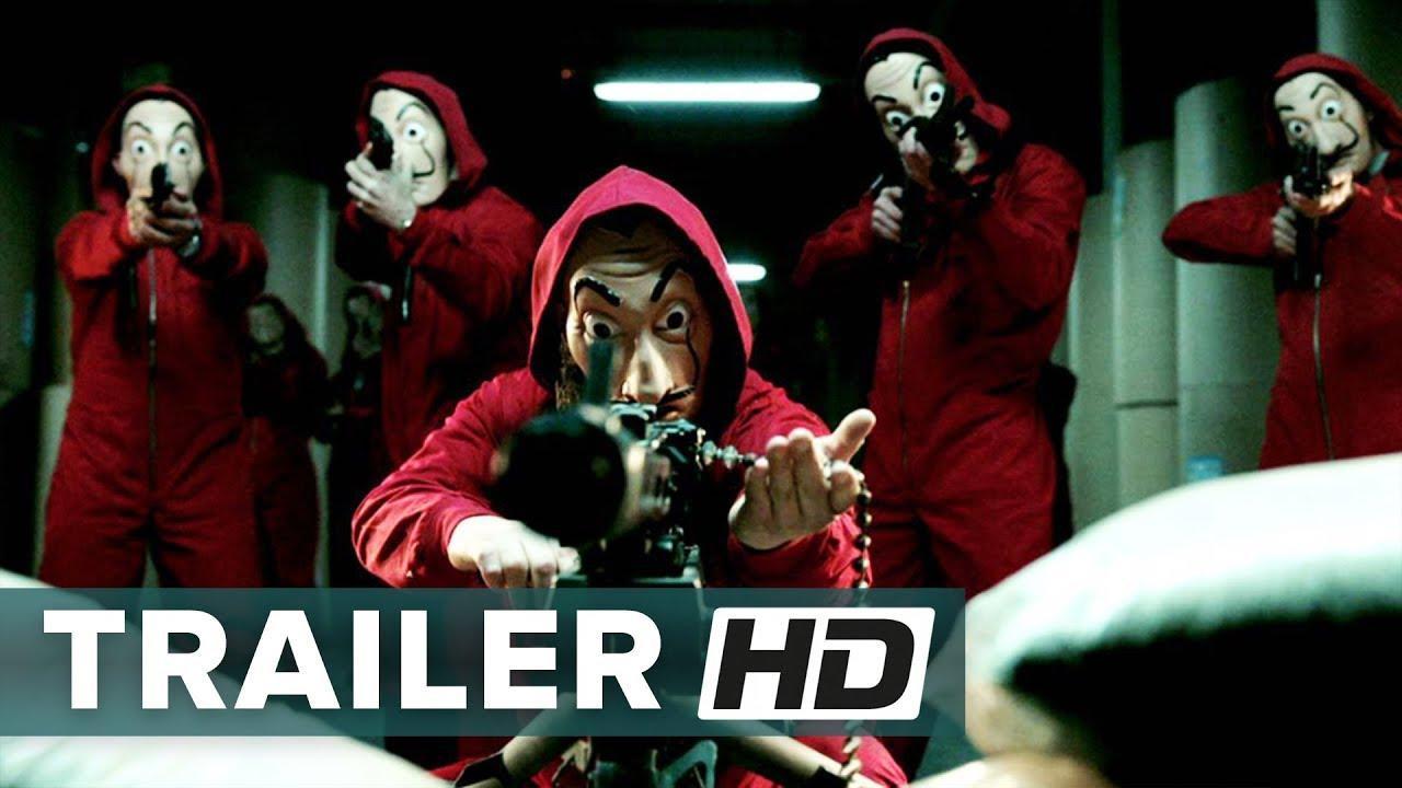 La Casa Di Carta Parte 2 Trailer Italiano Ufficiale Hd Netflix