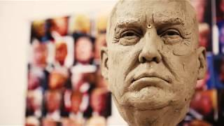 Sculpting the Donald Trump Wax Figure [HD] - The National Presidential Wax Museum