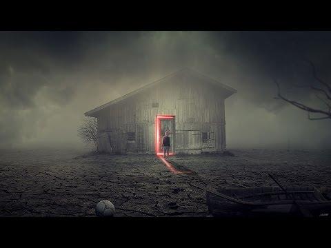 Photoshop Manipulation Tutorial The Haunted House ( 포토샵 판타지 합성 강좌 헌티드 하우스 )