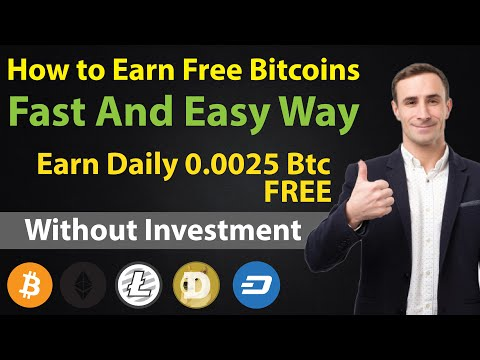 How To Earn Free Bitcoins Fast And Easy| Earn Bitcoin With Faucetpay Free | Free CryptoCurrency 2021