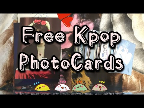 How to make BTS PhotoCards 100% Free!