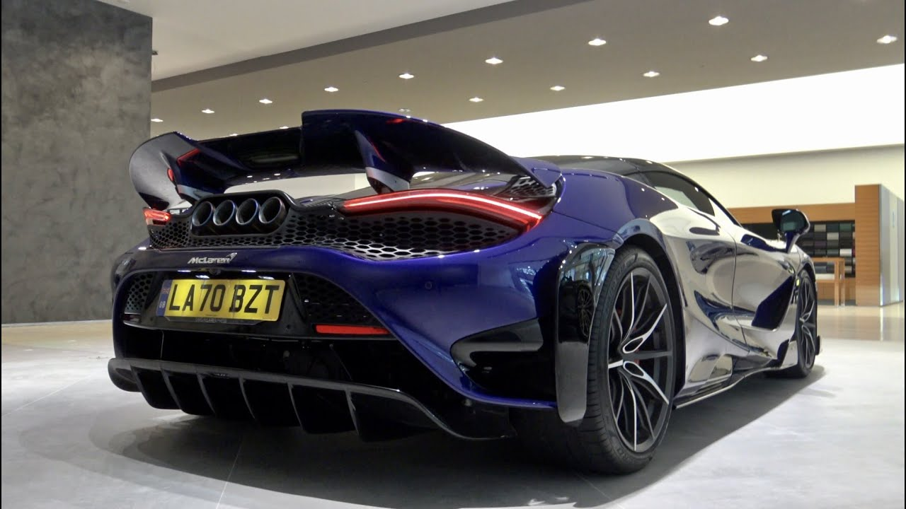 2021 McLaren 765LT Coupe (765 hp)   SOUND, Startup and Visual Review   4K Filmed