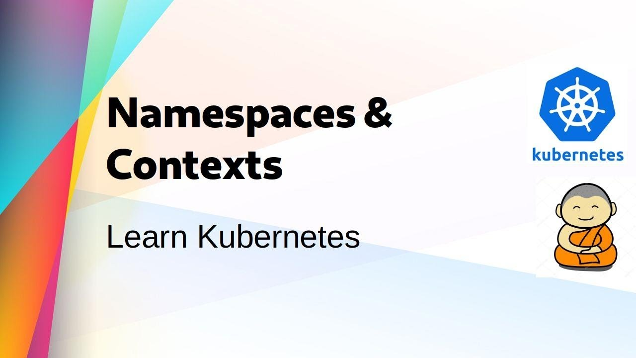 [ Kube 8 ] Kubernetes Namespaces & Contexts - YouTube