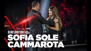 "Sofia Sole Cammarota ""People Help The People"" - Blind Auditions #2 - TVOI 2019"