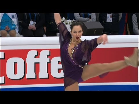 Elizaveta Tuktamysheva - 2015 European Figure Skating Championships - Free Skating