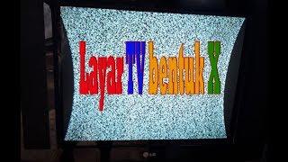cara perbaiki tv gambar menyempit samping