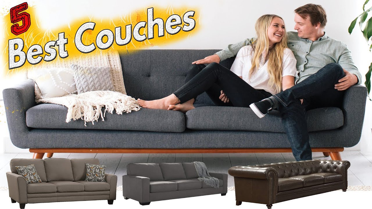 5 Best Couches To Buy In 2018 Sectional Couch Youtube