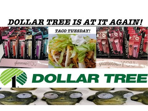 OMG MORE NEW STUFF AT DOLLAR TREE! TACO TUESDAY🌶| Helen H