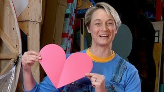 How to Make a Perfect Paper Heart | Sophie's World