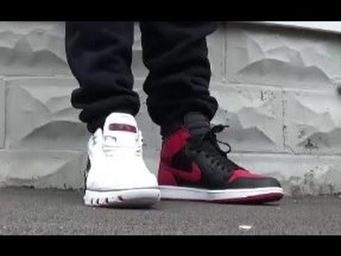 Nike Lebron Generation 1 VS Air Jordan I Shoes - Who Had The Hottest 1st  Sneaker? @DjDelz - YouTube