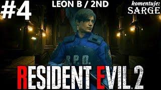 Zagrajmy w Resident Evil 2 Remake PL | Leon B | odc. 4 - KONIEC GRY (platyna!) | Hardcore S