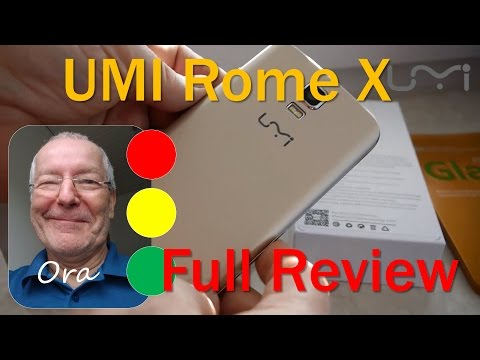 UMi ROME X Budget Smartphone 3G - Hands-on & Unboxing Review (German)
