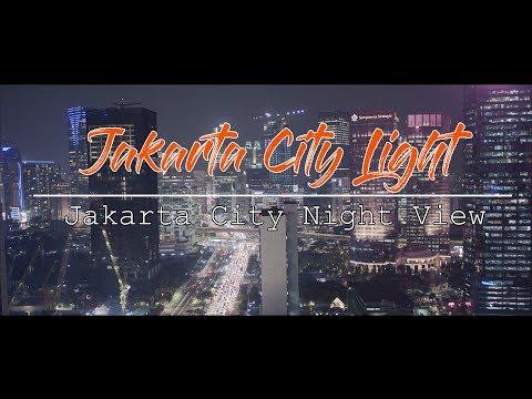 JAKARTA City Night L City Light L Aerial Cinematography