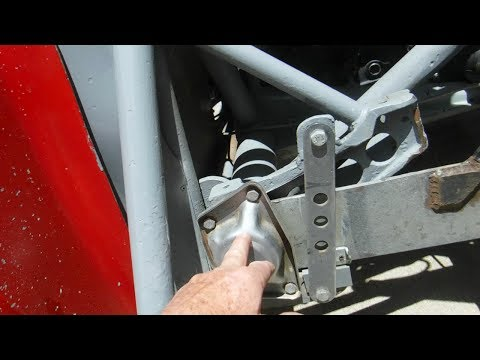 VW Rear Torsion Bar Upgrade - YouTube