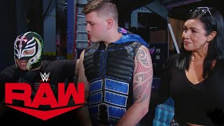 The Mysterio family offers support for Dominik after debut: Raw, Aug. 24, 2020