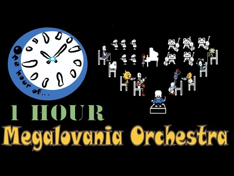 Megalovania Orchestra Cover  1 hour | One Hour of...