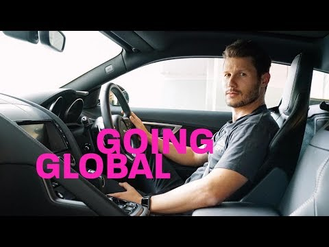 JASON DUNDAS IS GOING GLOBAL  making it
