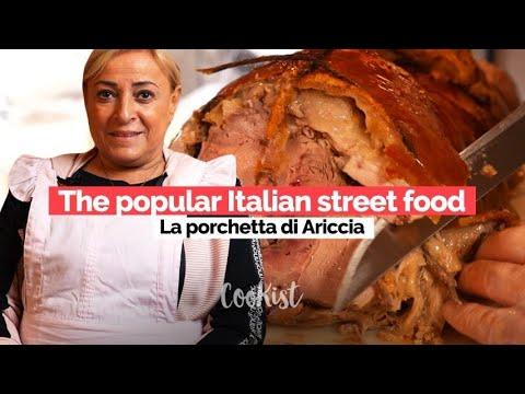 Porchetta di Ariccia an Italian pride and a popular street food
