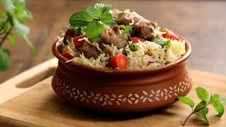 Mutton Yakhni Pulao | Kashmiri Yakhni Pulao - Maincourse Recipe | The Bombay Chef - Varun Inamdar