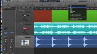 Logic Pro X - Video Tutorial 13 - Drag Modes (Overlap, No Overlap, X-Fade, Shuffle) and Nudge Values