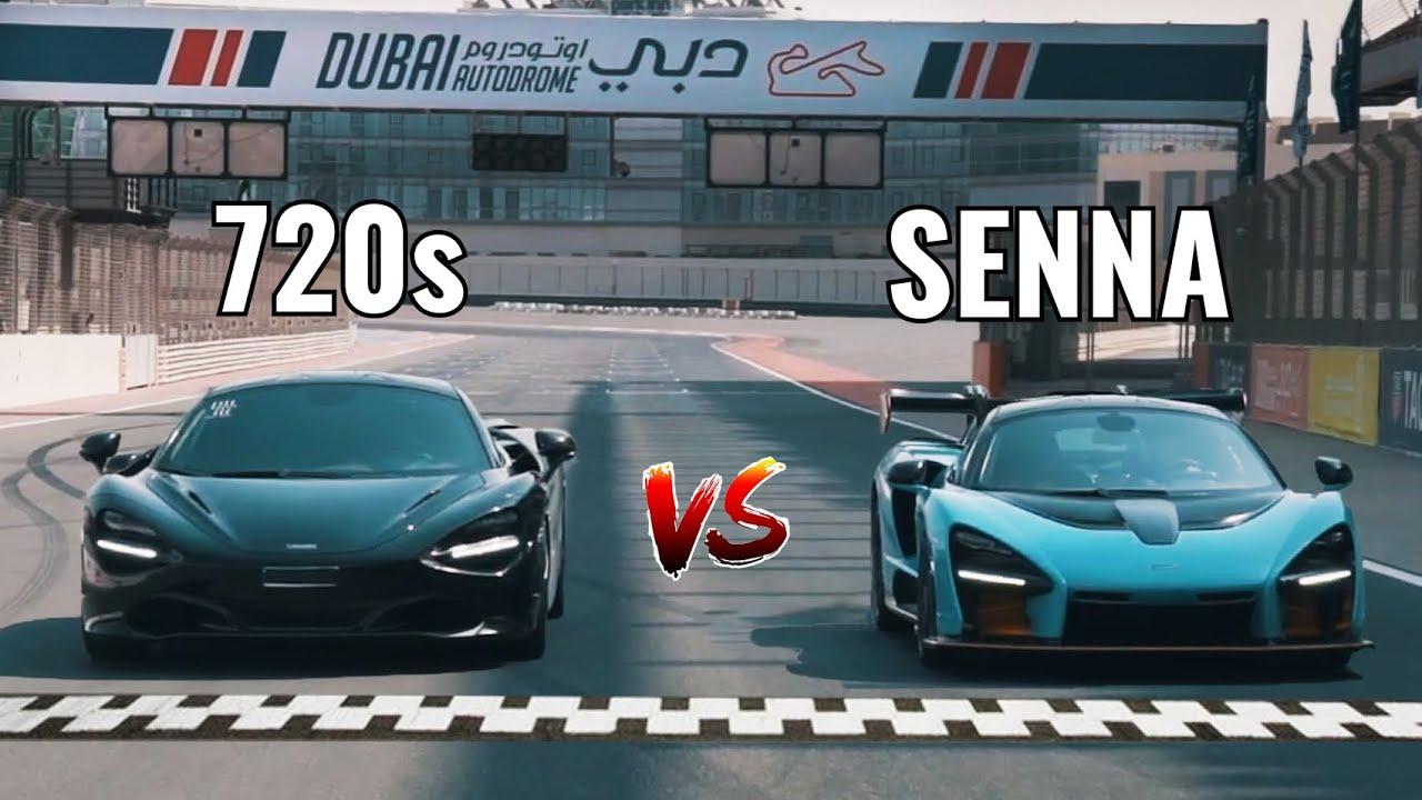 McLaren Senna vs. 720S | Drag Race and Hot Laps in Dubai | Nico Rosberg | Vlog