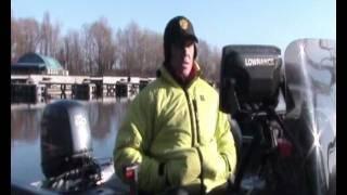 Эхолоты Lowrance Mark 5x DSI и Elite 5 DSI - тест на воде.