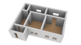 видео 3D модели проектов КАРКАС ИНФО в SKETCHUP
