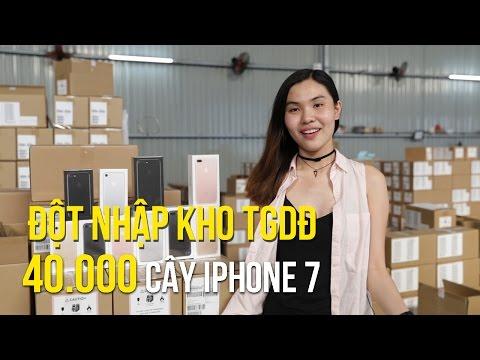 Đột Nhập Kho Chứa 40.000 Cây IPhone 7 Tại Thế Giới Di Động